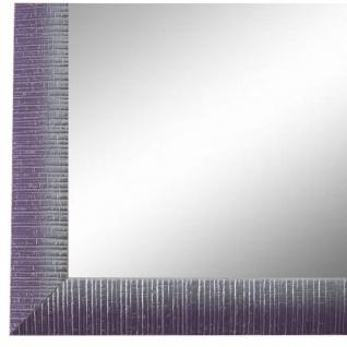 Wandspiegel Spiegel Lila Silber Vintage Holz Sorrento 2, 5 - NEU alle Größen