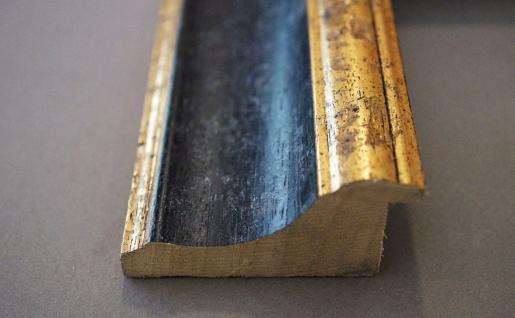 Badspiegel Schwarz Gold Acta Antik Barock 6, 7 - NEU alle Größen - Vorschau 4
