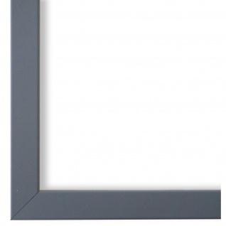 Bilderrahmen Grau Modern Retro Holz Asti 1, 7 - NEU alle Größen