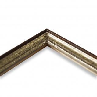 Wandspiegel Spiegel Silber Braun Barock Antik Holz Empoli 1, 5 - NEU alle Größen - Vorschau 4
