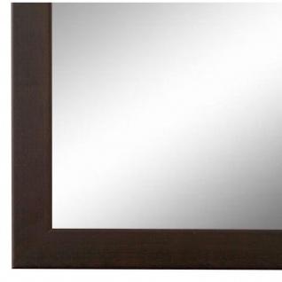 Wandspiegel Spiegel dunkel Braun Retro Modern Holz Neapel 2, 0 - NEU alle Größen