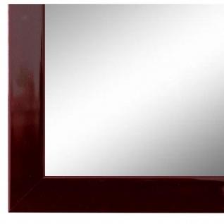 Wandspiegel Spiegel dunkel Rot Lack Modern Holz Como 2, 0 - NEU alle Größen