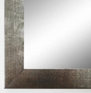 Flurspiegel Silber Metall Wolfsburg Modern Shabby 3, 0 - alle Größen