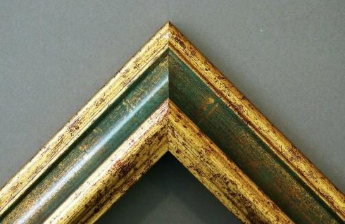 Badspiegel Grün Gold Bari Antik Barock 4, 2 - alle Größen - Vorschau 2