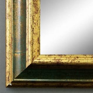 Wandspiegel Hochformat Querformat Bari Antik Grün Gold 4, 2 - NEU alle Größen