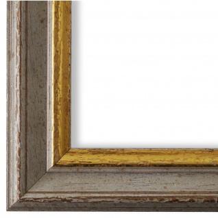 Bilderrahmen Beige Gold Vintage Retro Holz Forli 3, 7 - NEU alle Größen