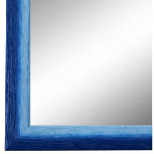 Wandspiegel Spiegel Blau Retro Vintage Holz Pinerolo 2, 3 - NEU alle Größen