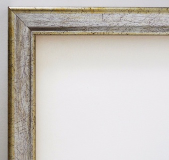 Bilderrahmen Silber Antik Shabby Rahmen Holz Klassisch Kiel 2, 3 - alle Größen