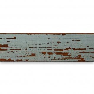 Bilderrahmen Türkis Antik Holz Cremona 3, 0 - Din A2 - Din A3 - Din A4 - Din A5 - Vorschau 2