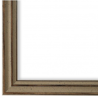 Bilderrahmen Beige Antik Shabby Holz Cosenza 2, 0 - NEU alle Größen