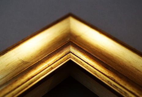Bilderrahmen Gold Antik Barock Fotorahmen Urkunden Rahmen Holz Vintage Acta 6, 8 - Vorschau 5