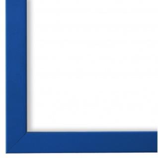 Bilderrahmen hell Blau Modern Retro Holz Asti 1, 7 - NEU alle Größen