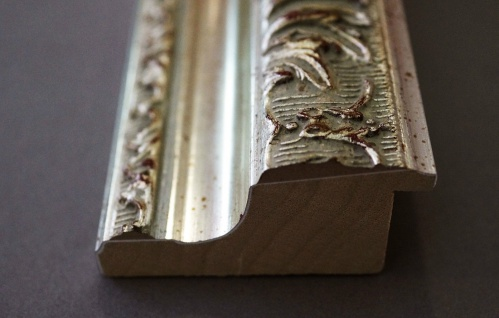 Garderobenspiegel Silber Rom Antik Barock 6, 5 - NEU alle Größen - Vorschau 4