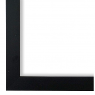 Bilderrahmen Schwarz Modern Holz Neapel 2, 0 - 40x60 50x50 50x60 60x60