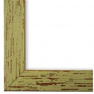 Bilderrahmen Grün Vintage Holz Cremona 3, 0 - DIN A2 - DIN A3 - DIN A4 - DIN A5