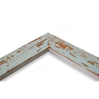 Wandspiegel Spiegel Türkis Shabby Antik Holz Cremona 3, 0 - NEU alle Größen - Vorschau 4
