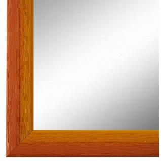 Wandspiegel Spiegel Orange Gelb Vintage Holz Pinerolo 2, 3 - NEU alle Größen
