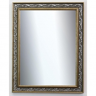 Spiegel Wandspiegel Badspiegel Flur Antik Barock Vintage Verona Grün Gold 4, 4
