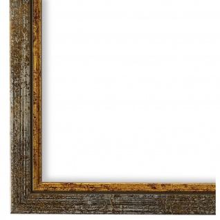 Bilderrahmen Grau Gold Holz Sanremo - 24x30 28x35 30x30 30x40 30x45 40x40 40x50