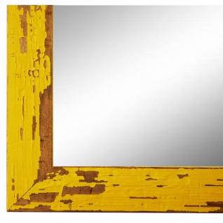 Wandspiegel Spiegel Gelb Shabby Antik Holz Cremona 3, 0 - NEU alle Größen