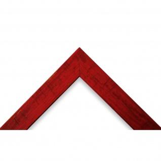 Bilderrahmen Rot Antik Vintage Holz Cremona 3, 0 - 40x60 50x50 50x60 60x60 - Vorschau 3