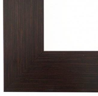 Bilderrahmen Essen in Braun Struktur Modern Shabby Rahmen 6, 0 - alle Größen NEU