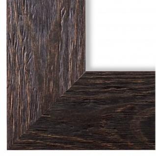Bilderrahmen dunkel Braun Holz Venedig 6, 8 - DIN A2 - DIN A3 - DIN A4 - DIN A5