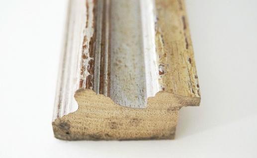 Garderobenspiegel Beige Silber Trento Antik Shabby 5, 4 - NEU alle Größen - Vorschau 4