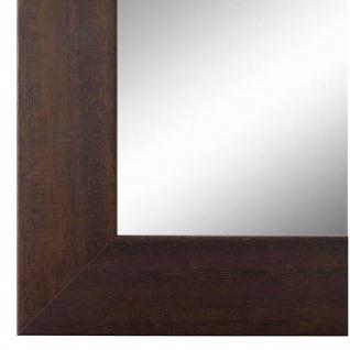 Wandspiegel Spiegel dunkel Braun Modern Retro Holz Florenz 4, 0 - NEU alle Größen