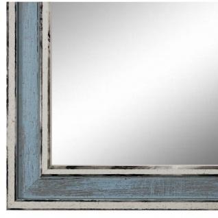 Wandspiegel Spiegel Blau Retro Shabby Holz Lugnano 2, 8 - NEU alle Größen