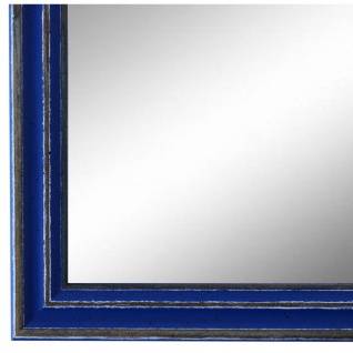 Wandspiegel Spiegel Blau Antik Shabby Holz Cosenza 1, 9 - NEU alle Größen