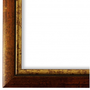 Bilderrahmen Kupfer Gold Retro Holz Perugia - DIN A2 - DIN A3 - DIN A4 - DIN A5