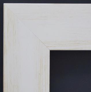 Bilderrahmen Weiss Beige Klassisch Rahmen Holz Bielefeld 6, 9 - alle Größen