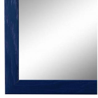Wandspiegel Spiegel Blau Retro Modern Holz Siena 2, 0 - NEU alle Größen