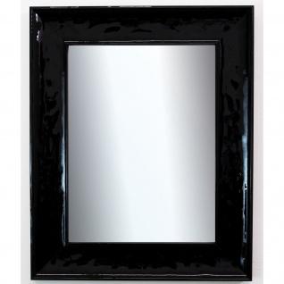 Wandspiegel Schwarz Lack Taranto Modern 7, 5 - NEU alle Größen