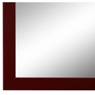 Wandspiegel Spiegel dunkel Rot Modern Holz Asti 1, 7 - NEU alle Größen