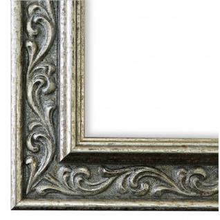 Bilderrahmen Silber Klassisch Retro Holz Verona 4, 4 - NEU alle Größen