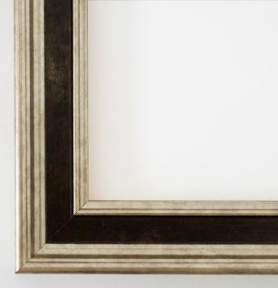 Bilderrahmen Rahmen Holz Foto Urkunden Antik Barock Hamburg Silber Braun 3, 4