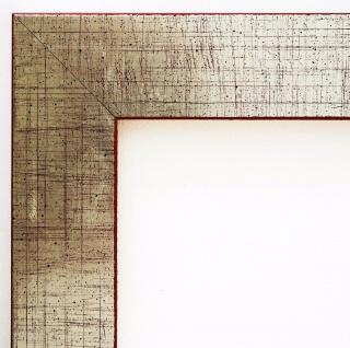 Bilderrahmen Silber Shabby Antik Rahmen Holz Urkunde Duisburg 4, 3 - alle Größen
