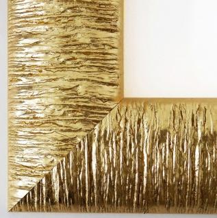 Bilderrahmen Gold Rostock DIN A0 - DIN A1 - DIN A2 - DIN A3 - DIN A4 - DIN A5