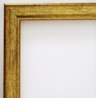 Bilderrahmen Gold Modern Antik Rahmen Holz Foto Shabby Kiel 2, 3 - alle Größen