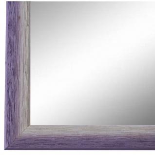 Wandspiegel Spiegel Lila Weiss Retro Vintage Holz Pinerolo 2, 3 - NEU alle Größen