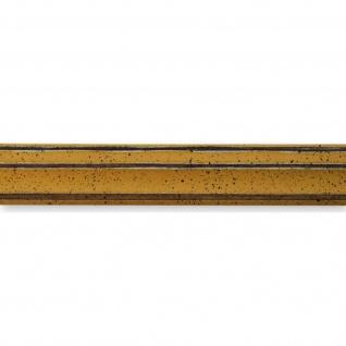 Bilderrahmen Gelb Antik Holz Cosenza 2, 0 - Din A2 - Din A3 - Din A4 - Din A5 - Vorschau 2