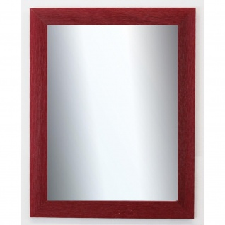 Garderobenspiegel dunkel Rot Florenz Shabby 4, 0 - NEU alle Größen