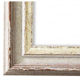 Bilderrahmen Beige Silber Klassisch Retro Holz Trento 5, 4 - NEU alle Größen