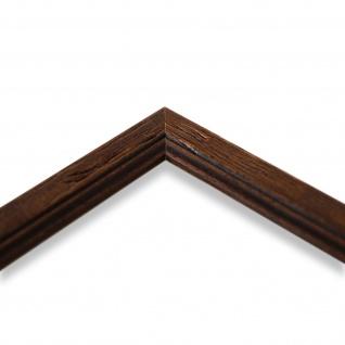Wandspiegel Spiegel Braun gemasert Antik Retro Holz Vasto 1, 8 - NEU alle Größen - Vorschau 4