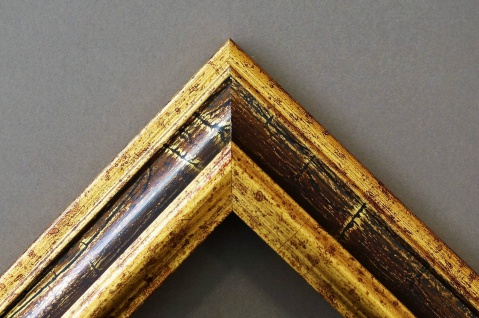 Ganzkörperspiegel Gold Braun Bari Antik Barock 4, 2 - NEU alle Größen - Vorschau 2