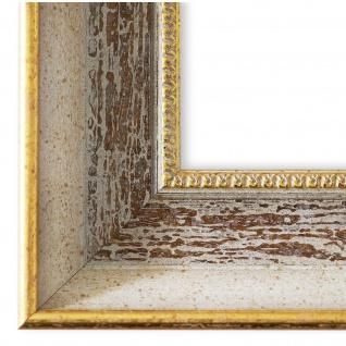 Bilderrahmen Beige Braun Vintage Retro Holz Monza 6, 7 - NEU alle Größen