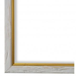 Bilderrahmen Beige Gold gemasert Vintage Shabby Holz Vasto 1, 8 - NEU alle Größen