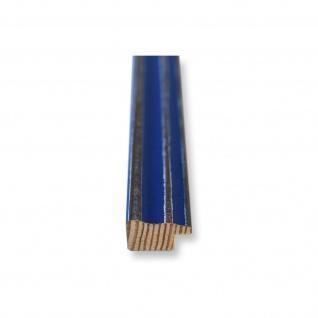 Bilderrahmen Blau Antik Holz Cosenza 2, 0 - Din A2 - Din A3 - Din A4 - Din A5 - Vorschau 5